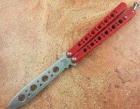 High Quality Not Sharp CSGO CS GO Butterfly Knife Training Knife Toys Stainless Steel Foldable Knife