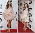 Jennifer Lopez Globos de Ouro Fox Searchlight Festa Chiffon Bateau Comprimento Mini witheather 2017 Celebrity Dresses