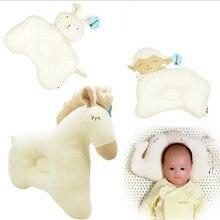 Multi Animal Soft Baby Pillow Benbat Child Care Cushion Safety Seat Headrest Travel Pillow Newborn Baby Sleeping Pillow
