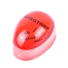 1PCS Egg Timer Kitchen Supplies Perfect Color Changing Boiled Eggs Cooking Helper Dial Eggtimer