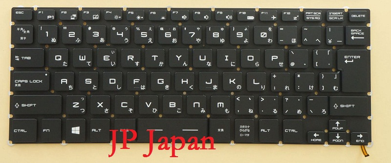 Laptop Keyboard For MSI GS30 2M-030JP 2M-092JP 2M-200JP GS32 6QE-001JP 6QE-003JP GS40 6QE-023JP 6QE-024JP 6QE-039JP 6QE-040JP f gattien 10127 112ч