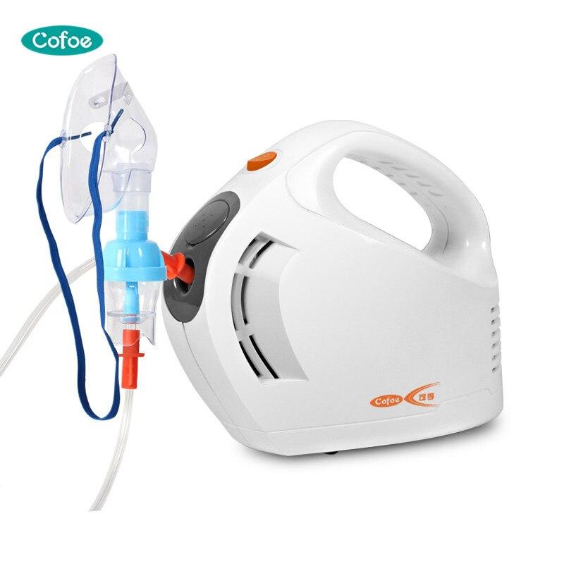 Cofoe Médicale Compresseur Nébuliseur Respiratoire Gorge Pulvérisateur Ménage Thérapie De Compression De L'air Atomiseur pour Bébé Enfant Adultes
