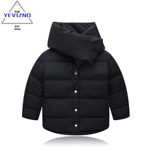 2016 Brand children winter Down Parkas jacket for girls boys fashion boy girl jackets girls outerwear coats manteau fille hiver