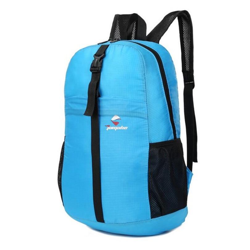 Kits de Viaje Unisex Deportes Plegable Ultraligero impermeable Hombro Mochila de