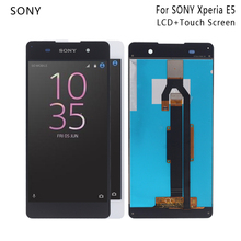 For SONY Xperia E5 LCD Display Touch Screen Digitizer Assembly For Sony Xperia E5 F3311 F3313 Display Screen LCD Phone Parts touch screen digitizer panel lcd display for sony xperia z sgp311 sgp312 touchscreen assembly tablet pc lcds combo repair parts