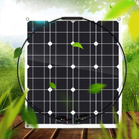 Solar Panel Efficiency Monocrystalline Silicon Solar Cell DIY Waterproof Power Charger for Battery Charging Camping Car Boat