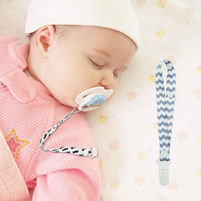 Baby Care Accessories Pacifier Clips Infant Newborn Pacifier Chain Anti-drop Polyester Belt 39CM Environmental Protection HOT