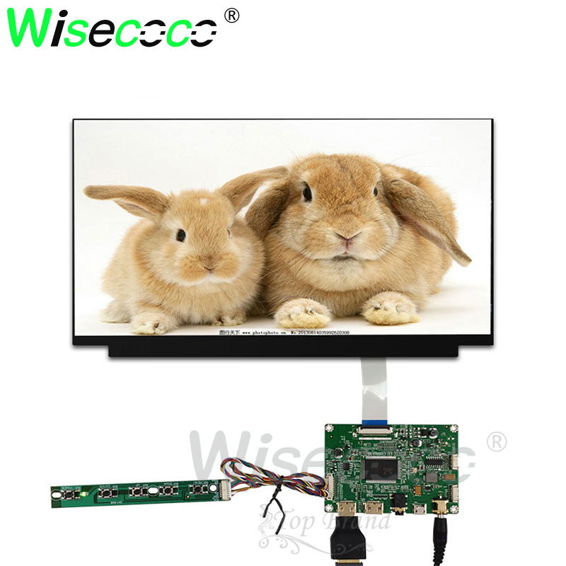 13.3 inch <font><b>1920X1080</b></font> FHD <font><b>IPS</b></font> LCD slim LCM screen module <font><b>HDMI</b></font> display panel controller board 30 pin for Laptop pc image
