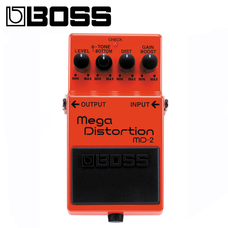 Boss MD 2 Mega Distortion Modulation Multi Effects Pedal With Picks, Polishing Cloth and Winder - 2
