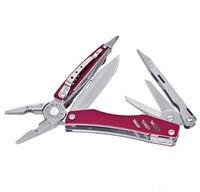 التخييم جيب مقص الصيد Multifuntional كماشة مفك بت EDC Multitool سكين للفرد بقاء أدوات الجمع ذو طيات