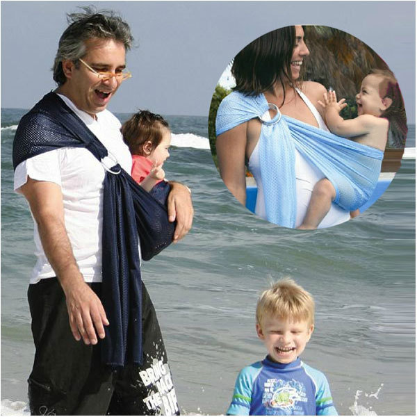Friendly Breathable Baby Ring Beach Water Sling Summer Wrap Quick Dry Pool Shower Backpack Baby Gear Beach Pool Wrap Swing Sling Carrier Customers First Activity & Gear