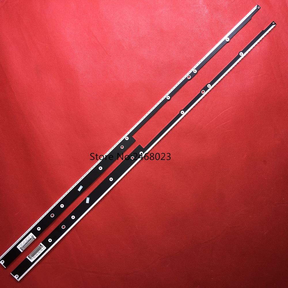 FOR sam sung 112 leds 683mm UA55D7000LJ UA55D8000YJ LTJ550HQ09 H left right 2PCS SLED MCPCB LED5030