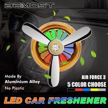 Декор автомобилей освежитель воздуха вентилятора клип сплошной аромат авто Air Force 3 Vent выходе Духи Диффузор интерьера автомобилей- стиль