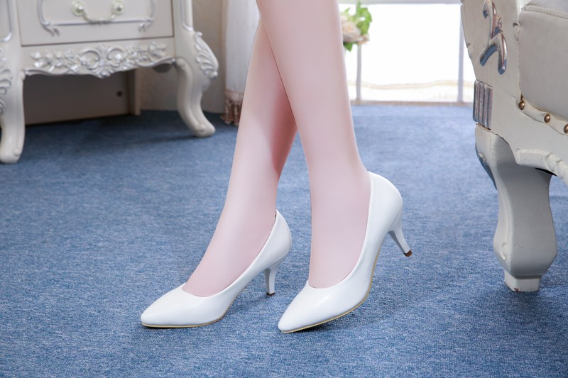 high heel women shoes new fashion cow leather 7cm heel - free shipping! High Heel Women Shoes New Fashion Cow Leather 7cm Heel – Free Shipping! HTB13EWAKFXXXXc8XpXXq6xXFXXXs