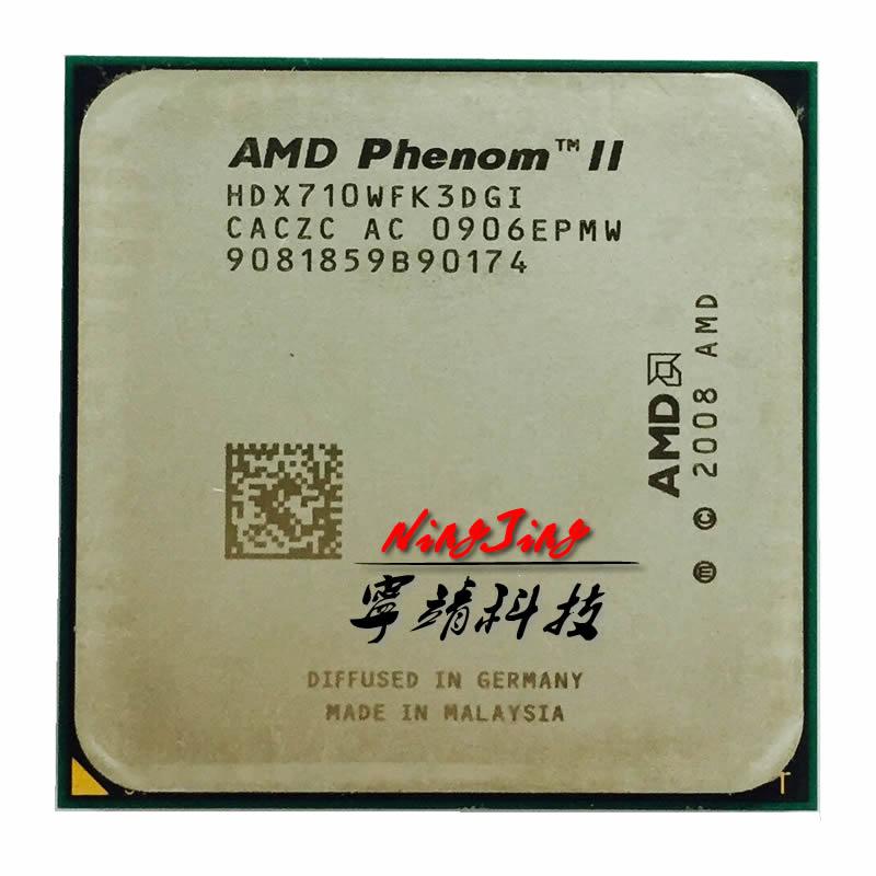 AMD Phenom II X3 710 2.6 GHz Triple-Core CPU Processor HDX710WFK3DGI Socket AM3