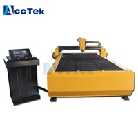 1500*3000mm plasma cutting metal sign cutting machine plasma cutter made in china