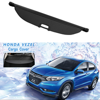 Rear Cargo Cover For Honda VEZEL XRV HR V HRV 2014 2019 privacy Trunk Screen Security Shield shade Auto Accessories