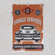 1 pc Mechanic store garage Car Repair genuine parts shop Tin Plate Sign plaques Man cave vintage Shop store metal poster 1 pc attitude bags store leather shop tin plate sign plaques man cave vintage shop store metal poster