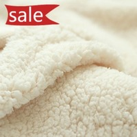 Free Shipping 150 X 50cm Coral Fleece Fabric Cloth DIY Sweater Inner Lining Clothing On Sale