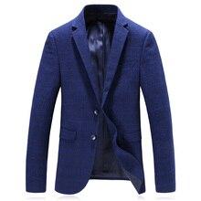 2018 autumn Men's single breasted suits casual Men's woolen business blazers fashion high quality blazer men jackets