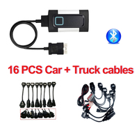 Obdii obd2 сканер VD DS150E CDP TCS CDP pro с bluetooth 2016. R0 для белобочка диагностический инструмент для автокомс + 16 автомобиля/грузовика кабели