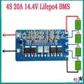 2 PCS/a lot 4S 20A lifepo4 BMS PCM lifepo4 bateria protecção bordo placa de proteção da bateria pulverizador elétrico