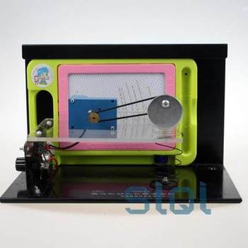 Forced vibration and resonance demonstrator (electric) 2221 teaching apparatus physics experiment free shopping