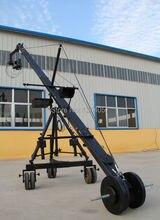 Broadcasting camera dv jimmy jib crane for sale with motorized dutch head loading 25kg Professional Jimmy Crane Jib