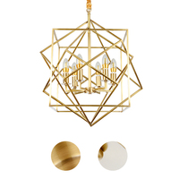 Contemporary and contracted creative personality full copper lamp droplight bedroom restaurant corridor lamps and lanterns
