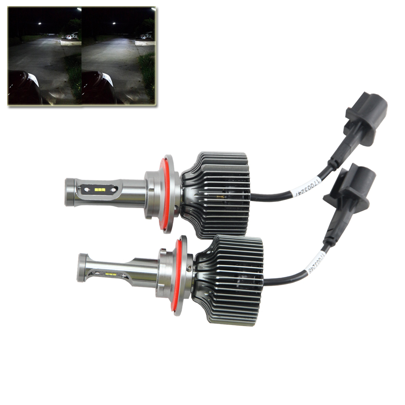 H13 Car Led Headlight High Power Auto Hi/Lo 9008 High Low White 6000K Bulb Replacement Headlamp Car Styling No Ballast