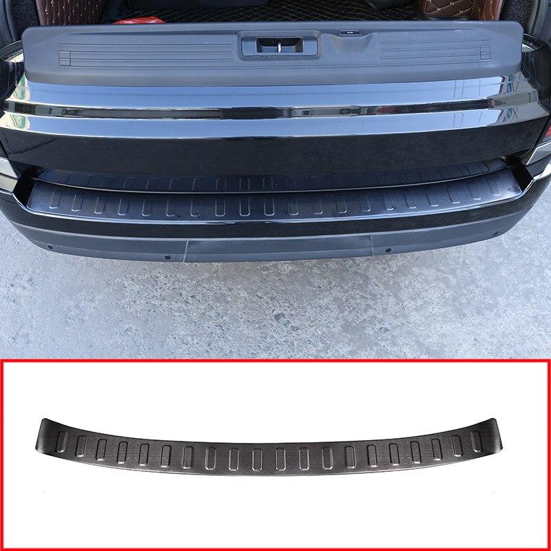 Черный автомобиль снаружи заднего бампера Накладка для Landrover Range Rover Vogue L405 2018 2013 автомобильные аксессуары