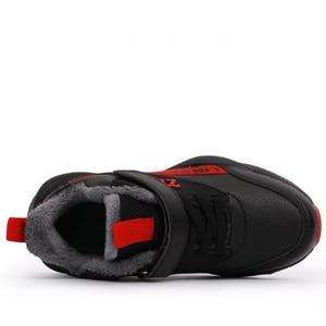 Image 4 - Skhek moda crianças botas outono inverno novo artesanal confortável meninas botas de couro martin meninos botas moda crianças sapatos