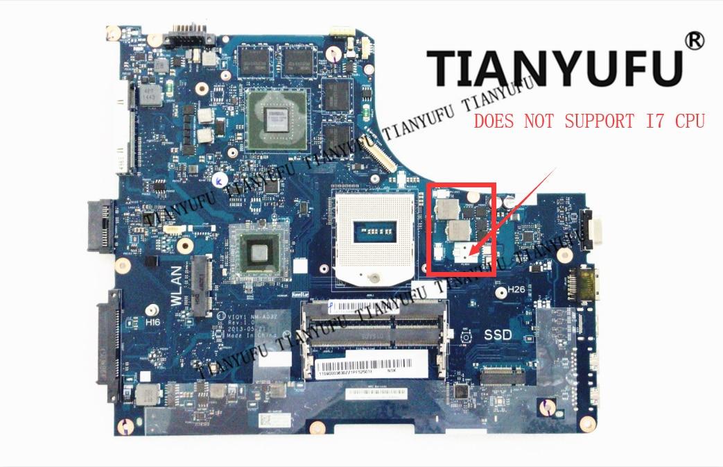 Y510P VIQY1 NM A032 REV 1 0 Y510P laptop motherboard for Lenovo Y510P NM A032 GT750