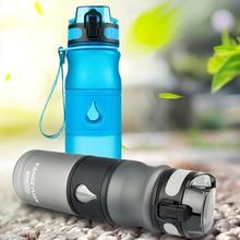 Fashion sports water bottle Leakproof portable water bottle Transparent Travel hiking plastic kettle kids drink bottle water jug цена и фото