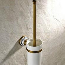 Держатель для туалетной щетки, подставка для ершика, керамический античный держать полотенец для ванной набор аксессуаров для ванной zba406