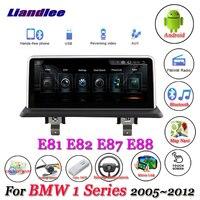 Liandlee For BMW 1 Series E81 E82 E87 E88 2005~2012 Original Screen CCC CIC System Radio Idrive GPS Navi Navigation Multimedia