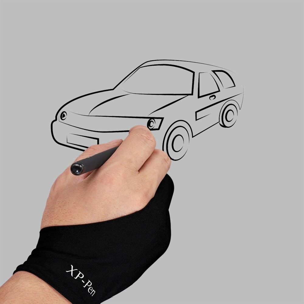 XP-Kalem Toptan Profesyonel Sanatçı Anti-kirlenme Eldiven için Ugee Grafik çizim Tablet için Ücretsiz Boyutu ve Huion dijital tablet