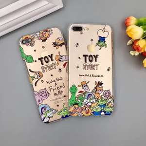 Japan Cartoon Phone Case For Iphone 7 Plus 6 S Coque Silicone Cover