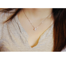 925 Sterling Silver Jewelry AAA Zircon CZ Pendant Necklaces Six Claw Maxi Necklace Necklaces & Pendants For Women Free Shipping