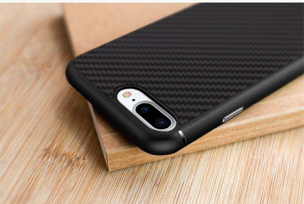 imágenes para Para iphone 6/6 s/6 s plus/7/7 plus cubierta case nillkin de fibra sintética contraportada paquete al por menor shell trasero para el iphone 7 plus case