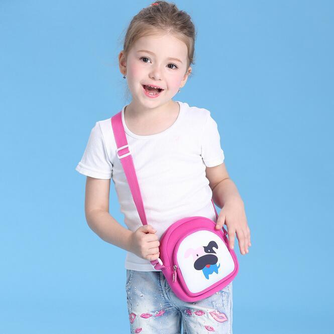dog purse kids baby bags Mini Messenger Bag Cute Cartoon Small Coin Purses Children Handbags Kids Shoulder Bags