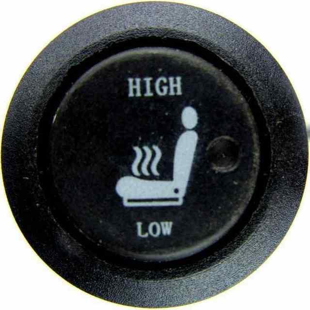 5 años de garantía, mejora de la calefacción del asiento, cojín para calentar el Interior del coche, cubiertas originales cálidas para asiento, calentador de asiento con interruptor redondo