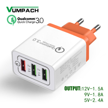 Vumpach USB Charger quick charge 3.0 for iPhone 8 X iPad Fast Wall Char