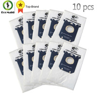 10pcs Dust Bag For Philips Electrolux Vacuum Cleaner S Bag For Philips Series FC8202 8204 8208