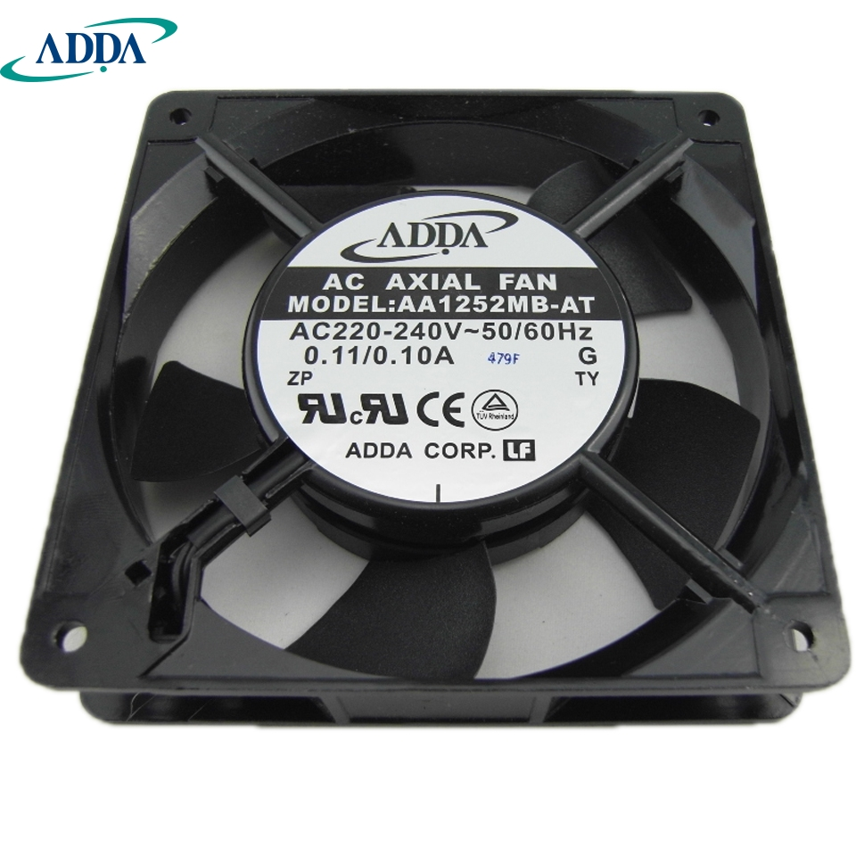 ADDA New and original inverter fan AA1252MB-AT 220V 0.10A 18.4W 44.1DBA control cabinet dedicated axial 120*120*25mm