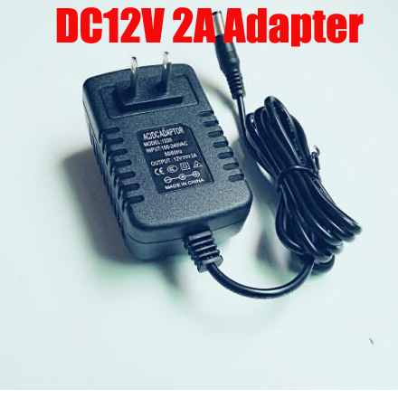 Free Shipping 12V 2A  Outdoor rainproof CCTV Power Supply  & CCTV Camera  Power Adapter for Security camera autoeye cctv camera power adapter dc12v 1a 2a 3a 5a ahd camera power supply eu us uk au plug