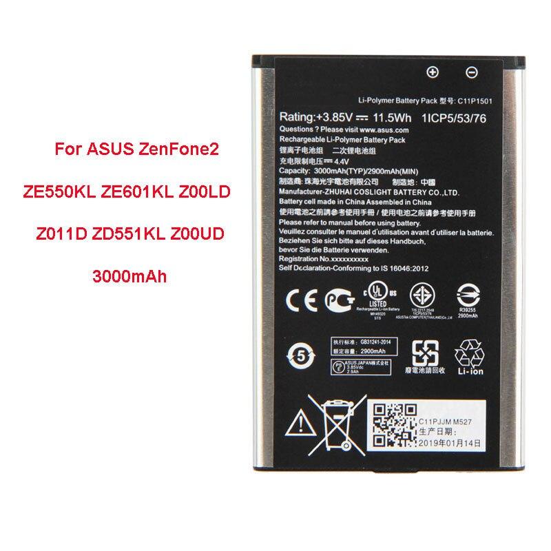 QrxPower batterie 2900 mAh C11P1501 pour ASUS zenfone 2 Laser 5.5 /6 zenfone selfie ZE550KL ZE601KL Z00LD Z011D ZD551KL Z00UDQrxPower batterie 2900 mAh C11P1501 pour ASUS zenfone 2 Laser 5.5 /6 zenfone selfie ZE550KL ZE601KL Z00LD Z011D ZD551KL Z00UD