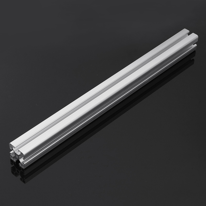 300mm Length 4040 T Slot Aluminum Profiles Extrusion Frame For CNC 3D Printer Lasers Stands Furniture Durable цена