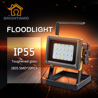 LED Rechargeable Work Lantern Street Waterproof Flood Light For Traveling Camping Fishing Portable Lamp 18650 Emergency