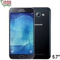 Original Samsung Galaxy A8 A8000 4G Mobile Phone 5 7 RAM 2G ROM 16GB 32GB 16